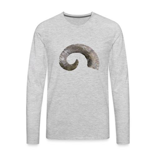 Smoke Horn - Men's Premium Long Sleeve T-Shirt
