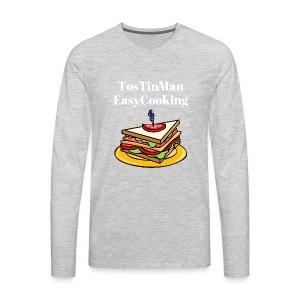 TosTinMan Sandwich - Men's Premium Long Sleeve T-Shirt