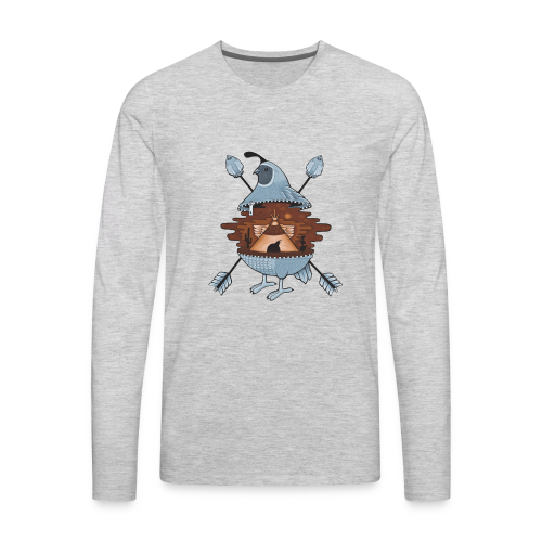 pigeon in the tent - Men's Premium Long Sleeve T-Shirt