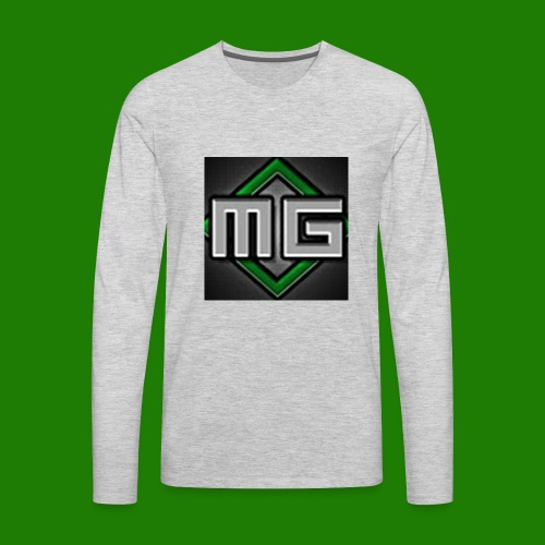 MrGreenGaming Logo Phone Cases - Men's Premium Long Sleeve T-Shirt