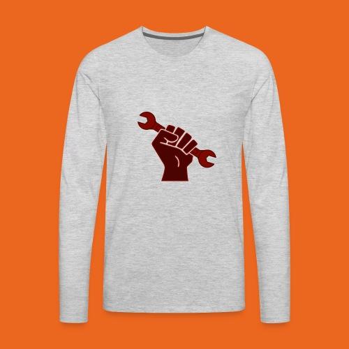 Rustbin Raider - Men's Premium Long Sleeve T-Shirt