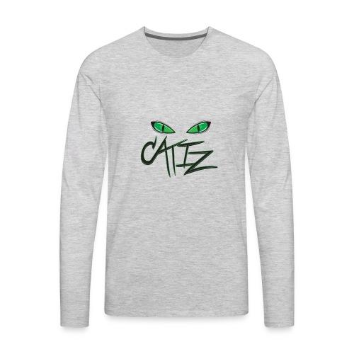 CatIz logo - Men's Premium Long Sleeve T-Shirt