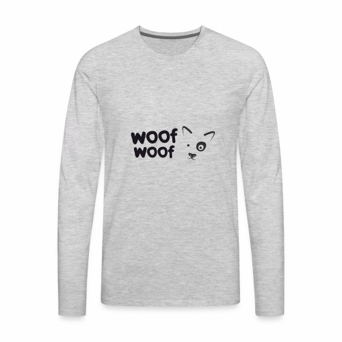 Woof Woof - Men's Premium Long Sleeve T-Shirt