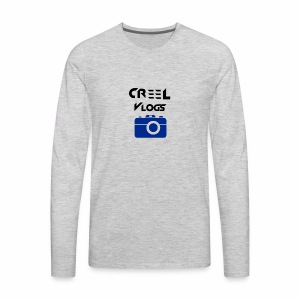 Creel Vlogs - Men's Premium Long Sleeve T-Shirt