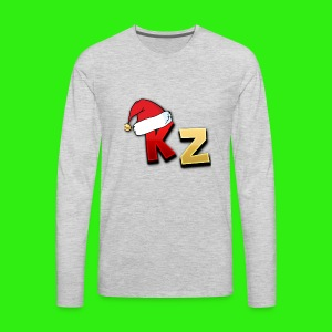 KaptainZay Christmas - Men's Premium Long Sleeve T-Shirt