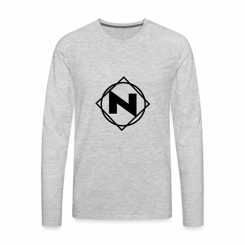Noble - Logo - Men's Premium Long Sleeve T-Shirt