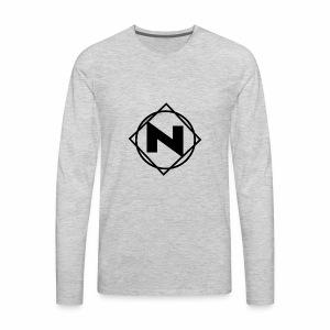 Noble - Logo - Men's Premium Long Sleeve T-Shirt