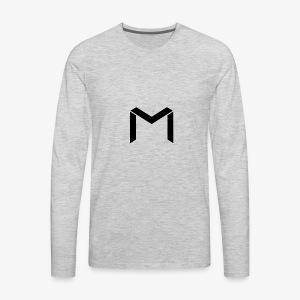 mavro logo - Men's Premium Long Sleeve T-Shirt