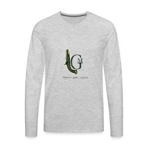 Lawyers, Guns and Money Logo - Men's Premium Long Sleeve T-Shirt
