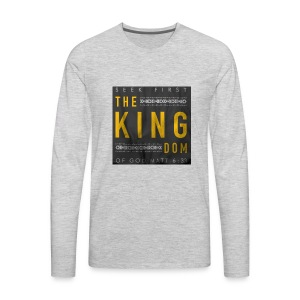 Seek The Kingdom - Men's Premium Long Sleeve T-Shirt