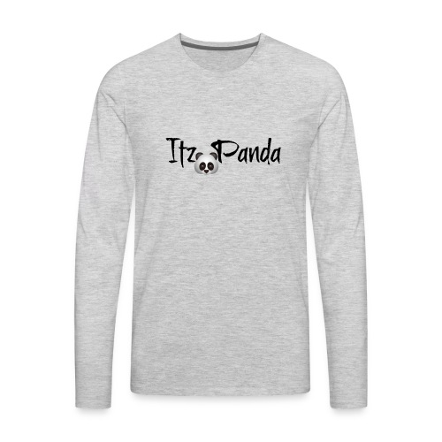 Its panda two - Men's Premium Long Sleeve T-Shirt