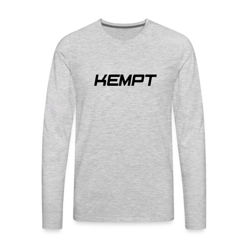 Kempt - Men's Premium Long Sleeve T-Shirt