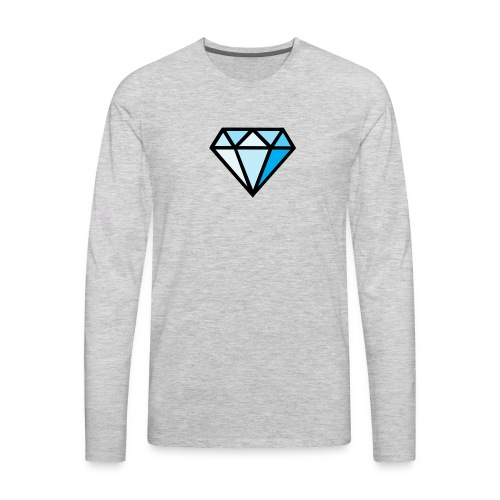 Diamond dino clothes - Men's Premium Long Sleeve T-Shirt