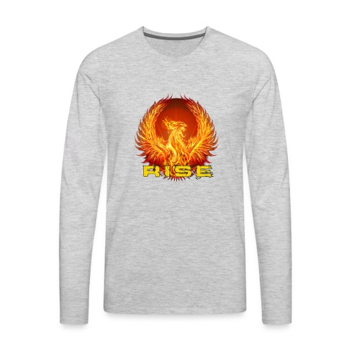 rise2 - Men's Premium Long Sleeve T-Shirt