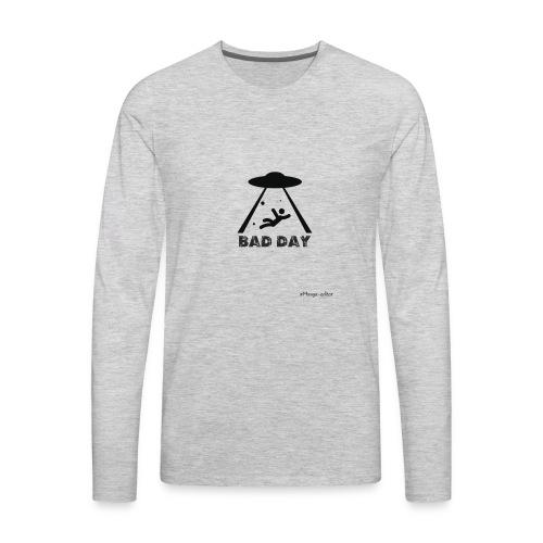 az mal dia estraterestre - Men's Premium Long Sleeve T-Shirt
