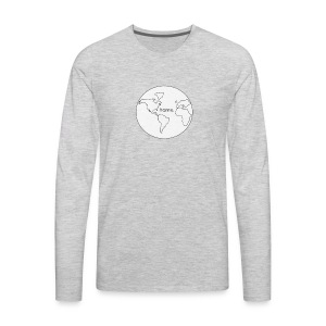 Earth is Home - Men's Premium Long Sleeve T-Shirt
