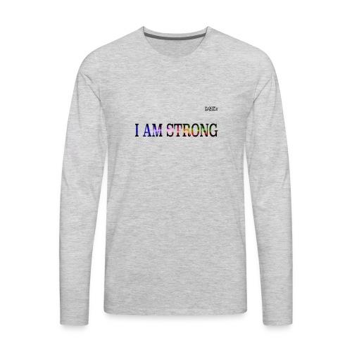 2 TSHIRT Print image - Men's Premium Long Sleeve T-Shirt