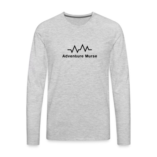 AdventureMurse Logo - Men's Premium Long Sleeve T-Shirt
