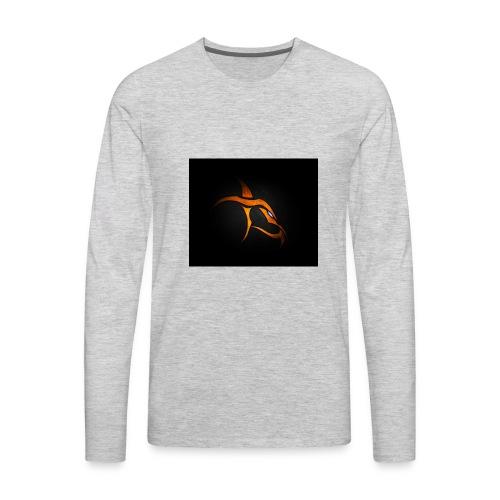 flametag sweatshirt for men's - Men's Premium Long Sleeve T-Shirt