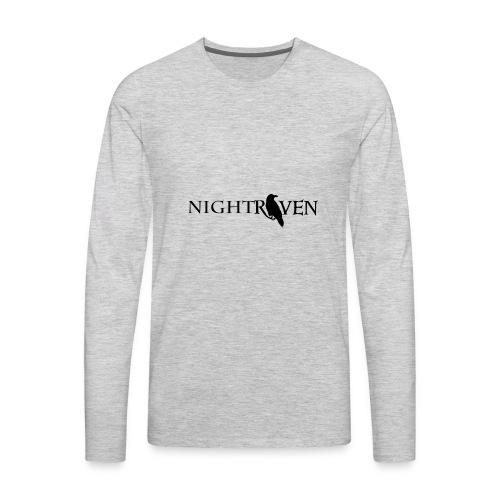 Night Raven Official Gear - Men's Premium Long Sleeve T-Shirt