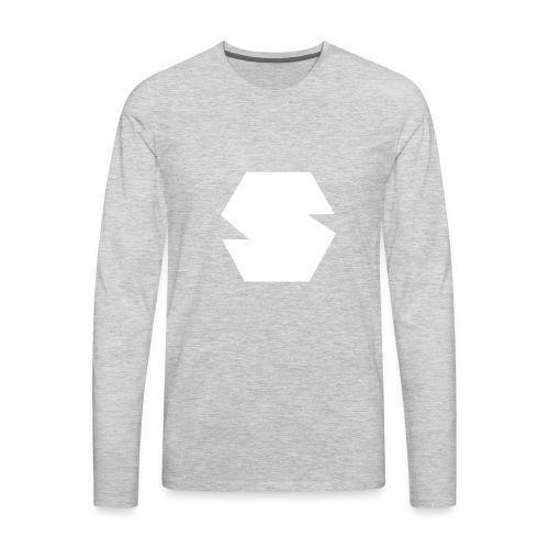 Species Logo White - Men's Premium Long Sleeve T-Shirt