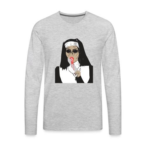 nun - Men's Premium Long Sleeve T-Shirt