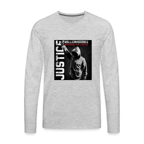 MHJ Justice - Men's Premium Long Sleeve T-Shirt