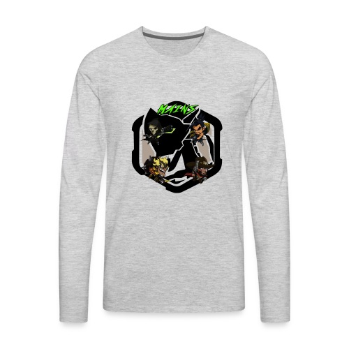 Acidtheinsane's Overwatch Mains - Men's Premium Long Sleeve T-Shirt