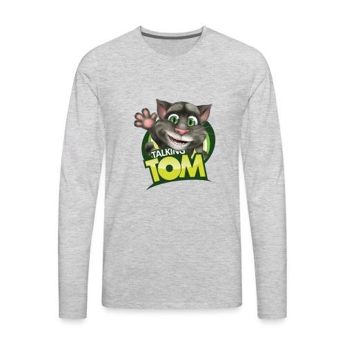 Talking_TOM_wave_preview_lowRes - Men's Premium Long Sleeve T-Shirt