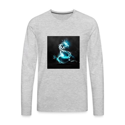 CrazyPlayz Official T-Shirt - Men's Premium Long Sleeve T-Shirt