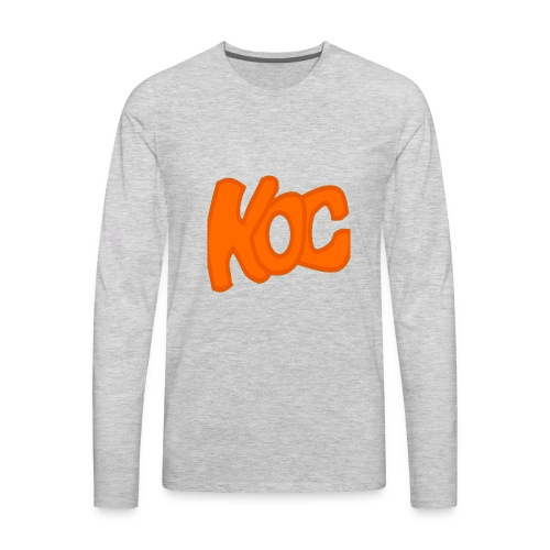 KingOfCookies Collection - Men's Premium Long Sleeve T-Shirt