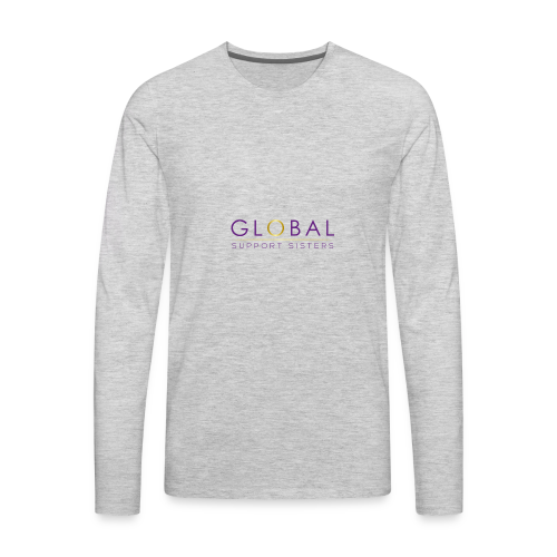 Global Support Sisters - Men's Premium Long Sleeve T-Shirt