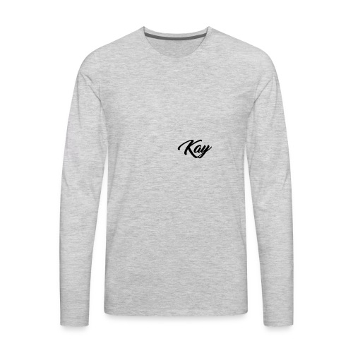 Kay Hoodie - Men's Premium Long Sleeve T-Shirt