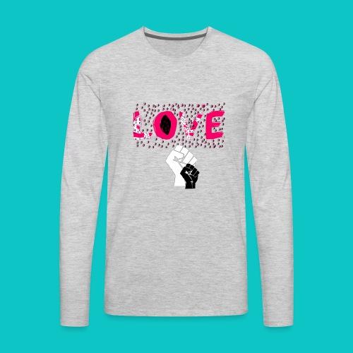 tshirt_1_love_wo_black_2_4 - Men's Premium Long Sleeve T-Shirt