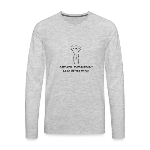 Classic Logo - Men's Premium Long Sleeve T-Shirt