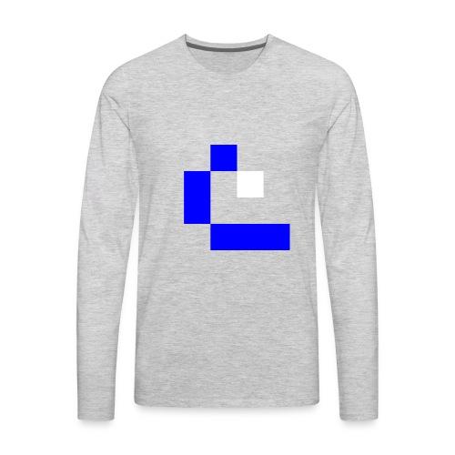 Water Wave - Men's Premium Long Sleeve T-Shirt