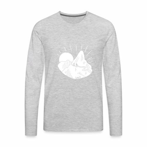 Shirleys Hiking Mountain - Men's Premium Long Sleeve T-Shirt
