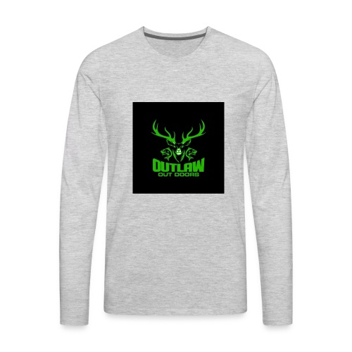 Outlaw Outdoors Logo 2 - Men's Premium Long Sleeve T-Shirt