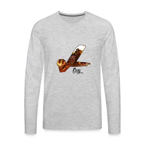 Ozzy vL Official Logo - Men's Premium Long Sleeve T-Shirt