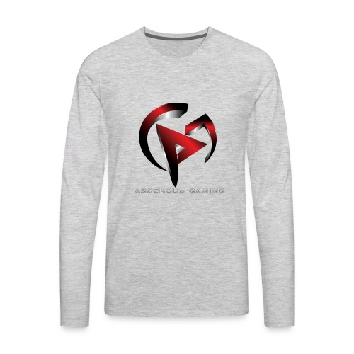 Ascendum Gaming Logo - Men's Premium Long Sleeve T-Shirt
