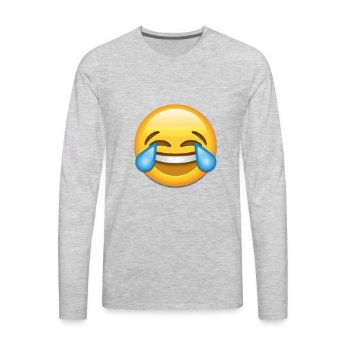 tears of joy - Men's Premium Long Sleeve T-Shirt