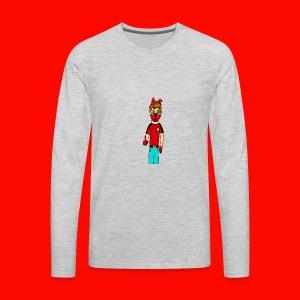 Like It KingRedDogChris - Men's Premium Long Sleeve T-Shirt