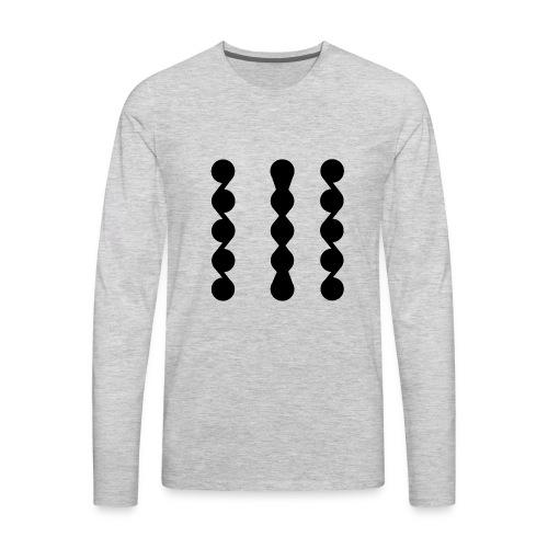 ASYMMETRICAL - Men's Premium Long Sleeve T-Shirt