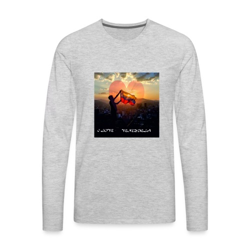 venezuela - Men's Premium Long Sleeve T-Shirt