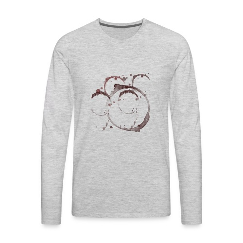 Coffee Stains - Men's Premium Long Sleeve T-Shirt