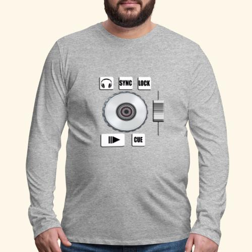 DJ mixer - Men's Premium Long Sleeve T-Shirt