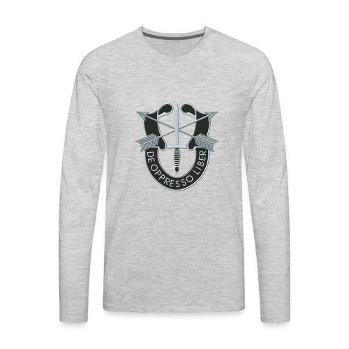 SF Crest - Men's Premium Long Sleeve T-Shirt