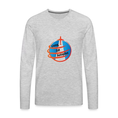 Living Off Autopilot - Men's Premium Long Sleeve T-Shirt