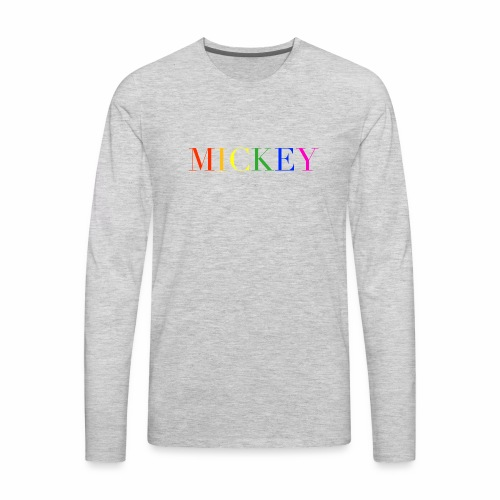 MICKEY - Men's Premium Long Sleeve T-Shirt