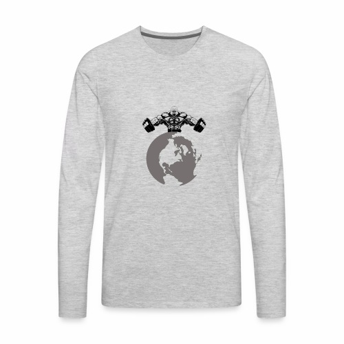 Muscle World - Men's Premium Long Sleeve T-Shirt